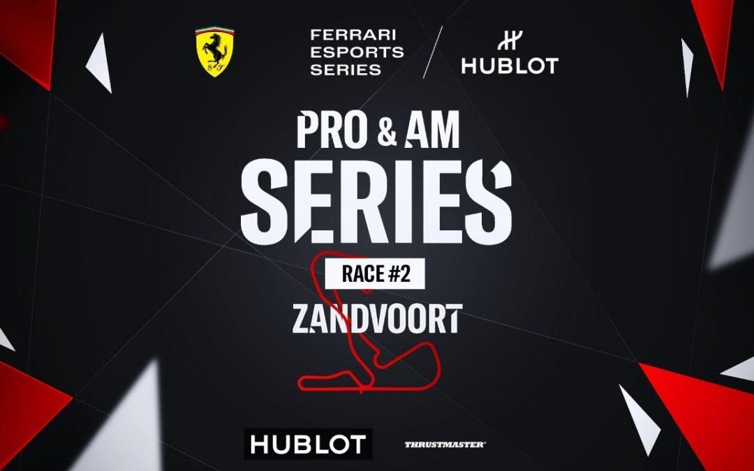 Ferrari Hublot Esports Series: Lacombe y Koch ganan en Zandvoort