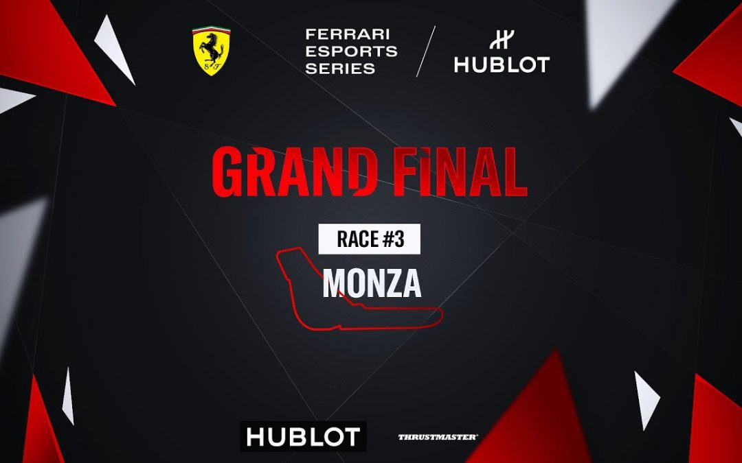 Ferrari Hublot Esports Series: La carrera es virtual, pero la emoción es real.